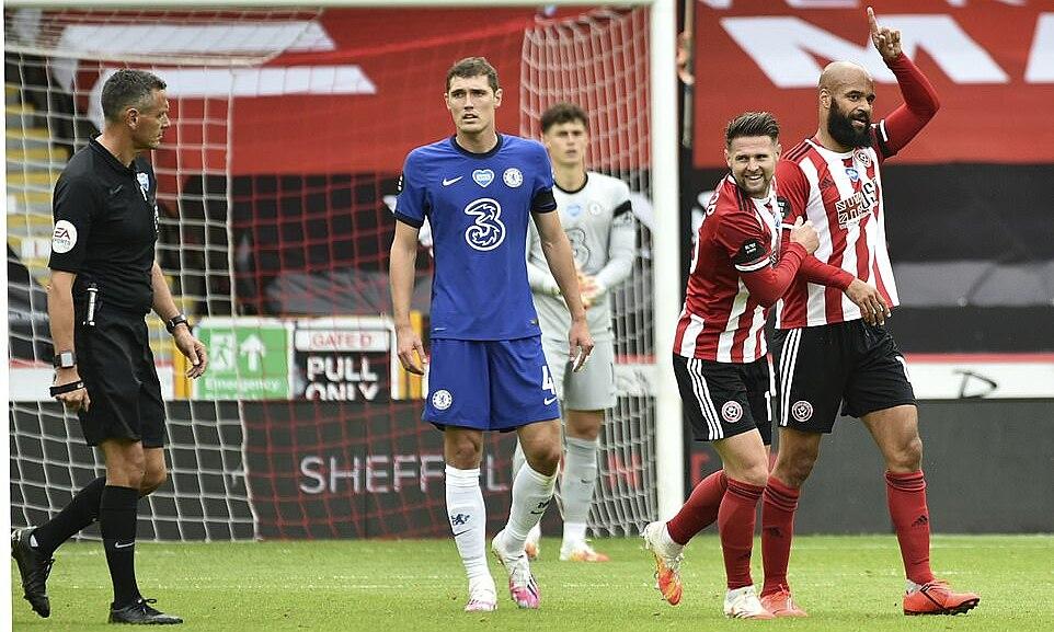 Sheffield vươn lên thứ sáu bảng điểm, tràn trề hy vọng dự cup châu Âu mùa sau. Ảnh: AP.