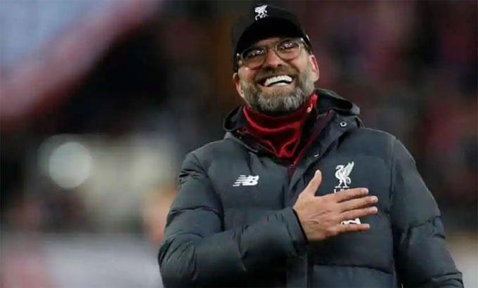 Klopp sẽ dẫn dắt Liverpool chín năm nếu làm đến hết hợp đồng hiện nay. Ảnh: Reuters.
