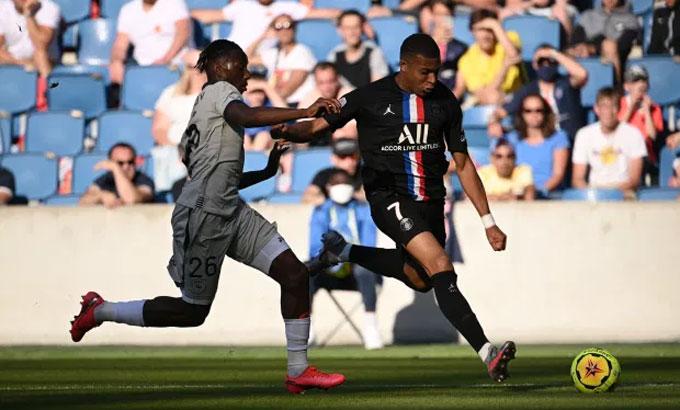 Mbappe và đồng đội tích cực chuẩn bị cho Champions League.