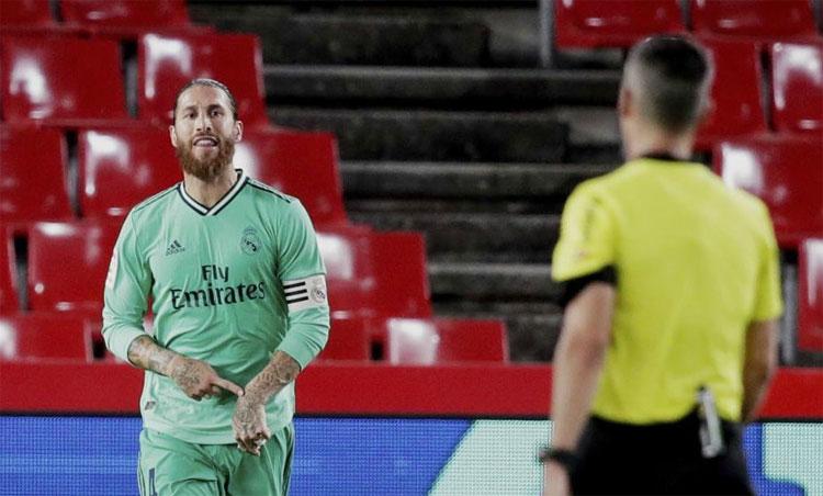 Ramos đang tiến đến rất gần chức vô địch La Liga. Ảnh: Marca.