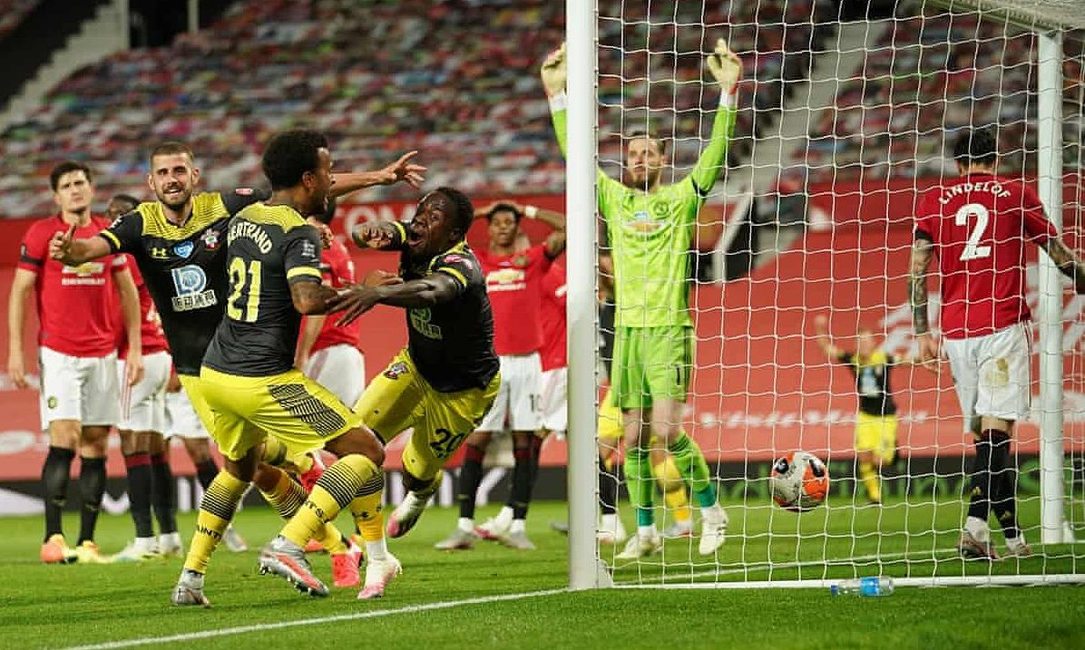 Bàn thua ở những phút cuối khiến Man Utd chưa thể vào top bốn. Ảnh: 2020 Pool.