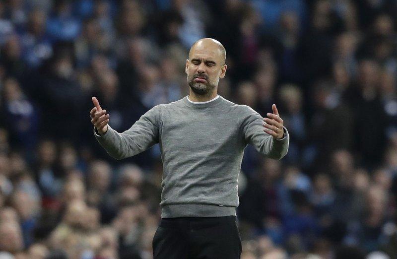 HLV Guardiola muốn các đội bóng khác chấp nhận phán quyết của CAS với Man City. Ảnh: AP.