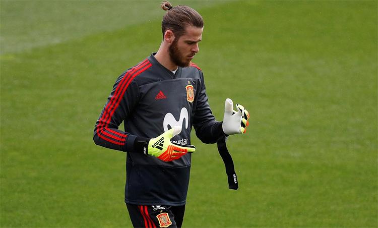 De Gea hiện là cầu thủ hưởng lương cao nhất tại Man Utd. Ảnh: Reuters.