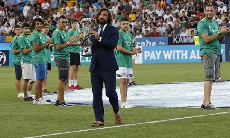 Pirlo bắt đầu sự nghiệp huấn luyện ở đội U23 Juventus. Ảnh: Gazzetta.