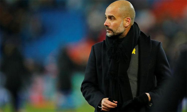 Guardiola dẫn đầu về số chiến thắng trong 150 trận Ngoại hạng Anh. Ảnh: Reuters.