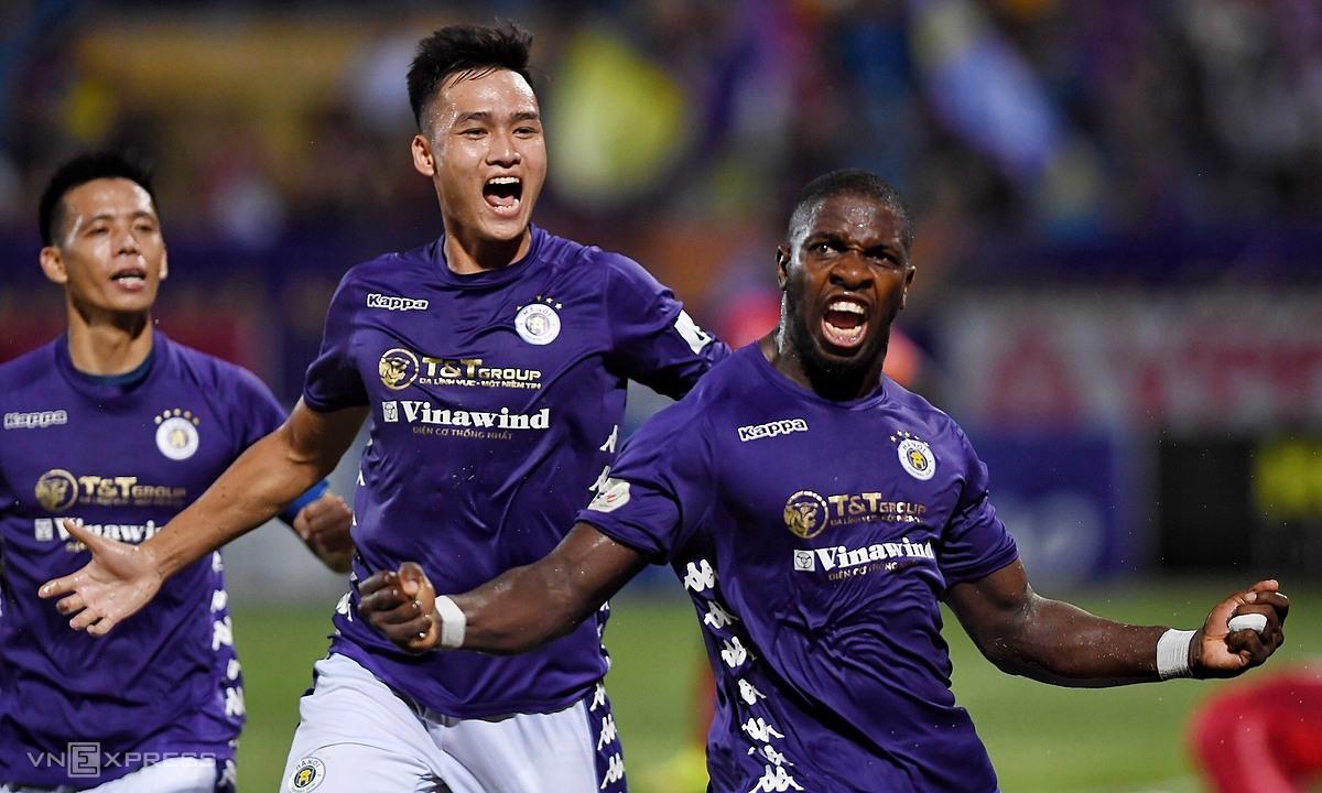 Rimario góp công lớn tới bàn duy nhất trận. Ảnh: Giang Huy.