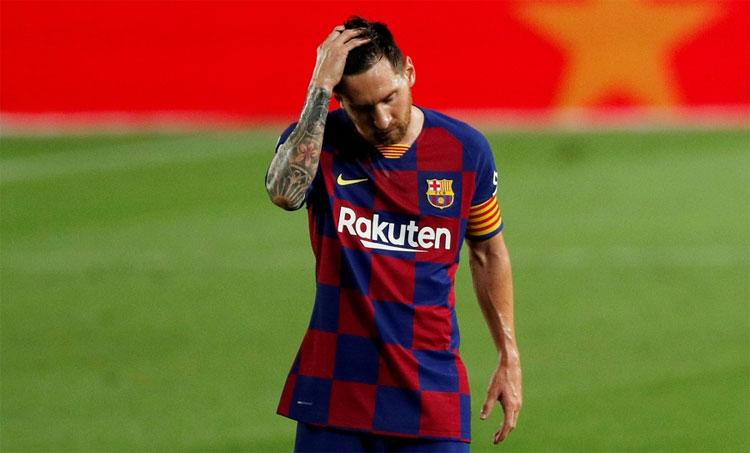 Mùa này, Messi không thể gánh Barca đến chức vô địch La Liga. Ảnh: Reuters.