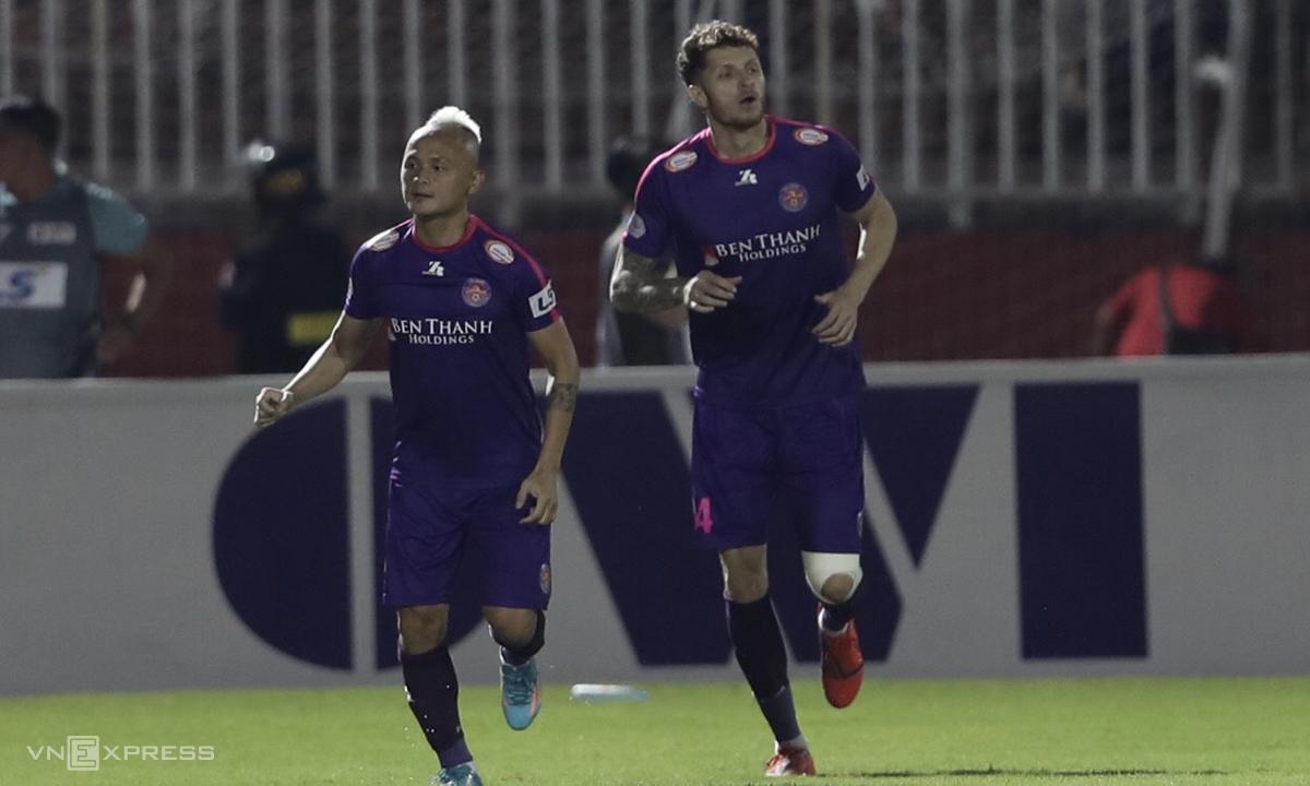 Sài Gòn FC đang đứng trước vận hội lớn để phất cờ ở V-League. Ảnh: Đức Đồng.