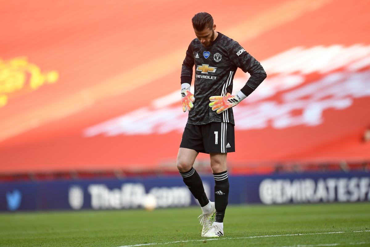 De Gea mắc sai lầm đáng trách khiến Man Utd bị loại khỏi Cup FA. Ảnh: AFP.