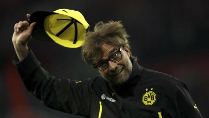 Klopp từng cùng Dortmund làm nên cuộc lật đổ vĩ đại trước Bayern hùng mạnh hơn bội phần tại Bundesliga. Ảnh: Reuters.