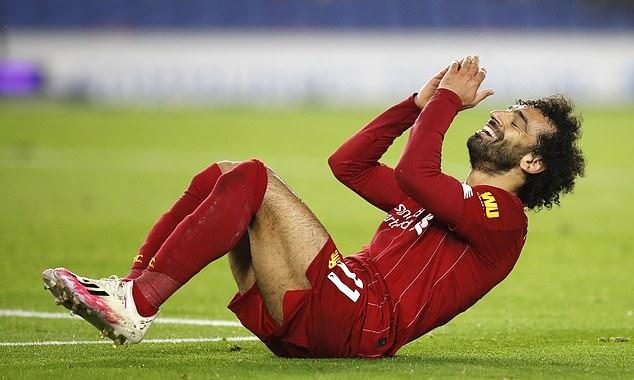 Chỉ cần thêm một bàn nữa, Salah sẽ có ba năm liên tiếp ở Liverpool ghi hơn 20 bàn mỗi mùa. Ảnh: AP.
