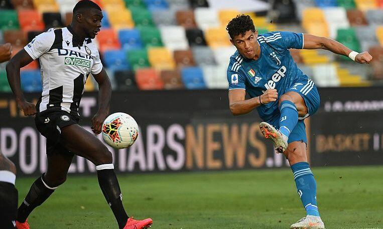 Juventus thua ngược Udinese