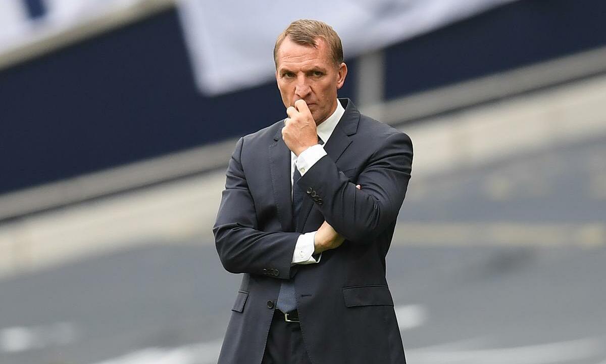 Brendan Rodgers muốn học trò có tâm lý thoải mái ở trận gặp Man Utd. Ảnh: Reuters.