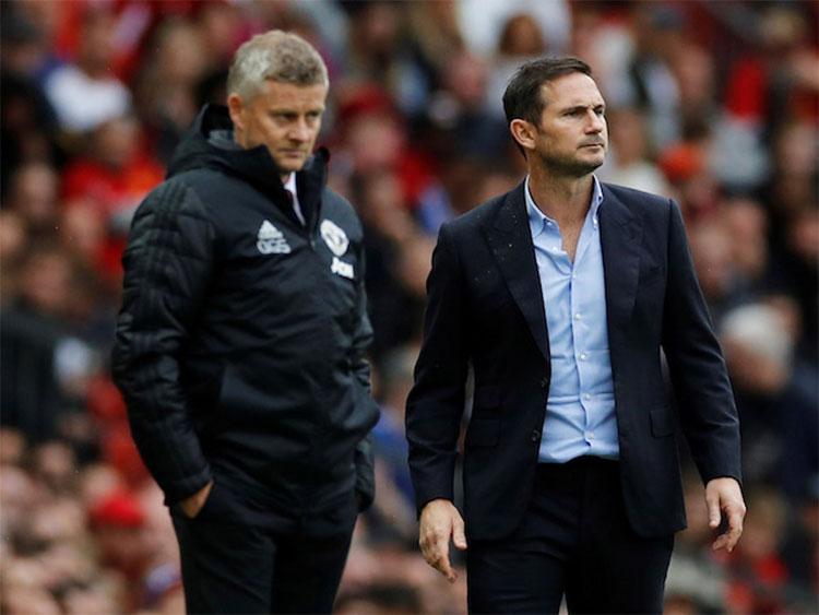 Chelsea và Man Utd cùng vào Top 4. Ảnh: Reuters.