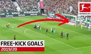 Top 10 cú sút phạt ở Bundesliga 2019-2020