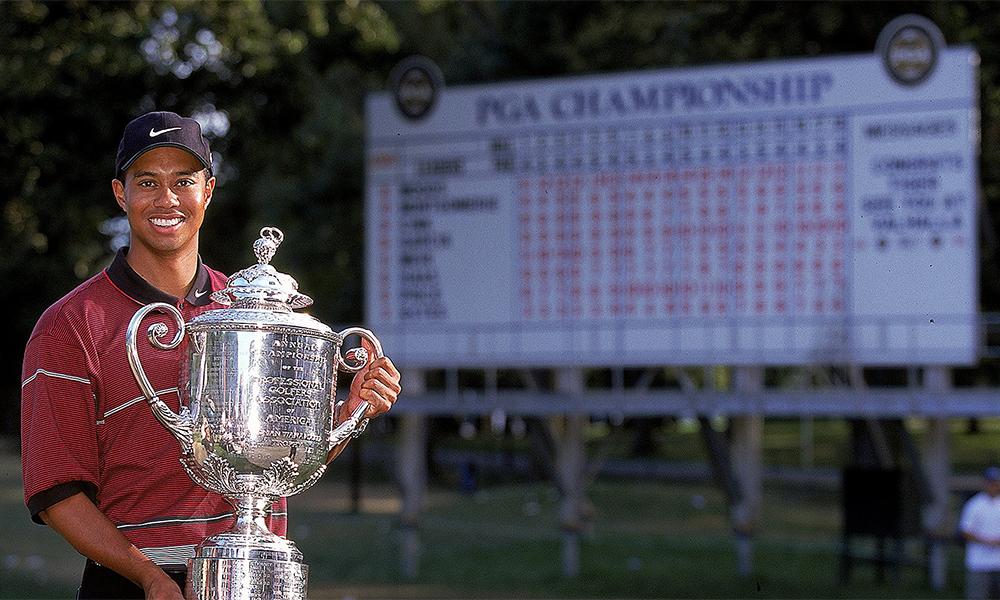 Woods vô địch PGA Championship năm 1999.