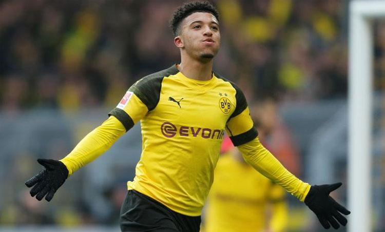 Sancho có thể trở thành cầu thủ đắt nhất lịch sử Man Utd. Ảnh: Reuters.