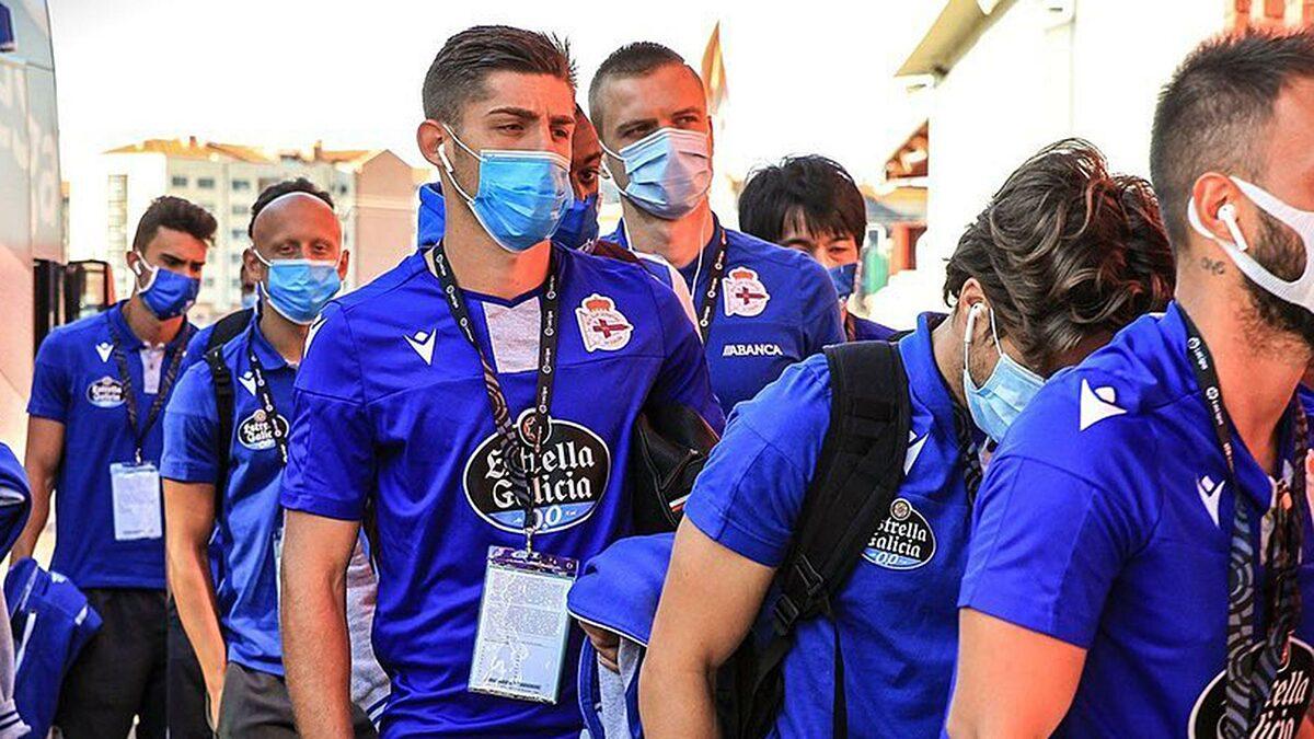Xuống hạng ba, ngập trong nợ nần, Deportivo chưa biết khi nào mới trở lại với ánh mặt trời ở La La Liga. Ảnh: RCD.