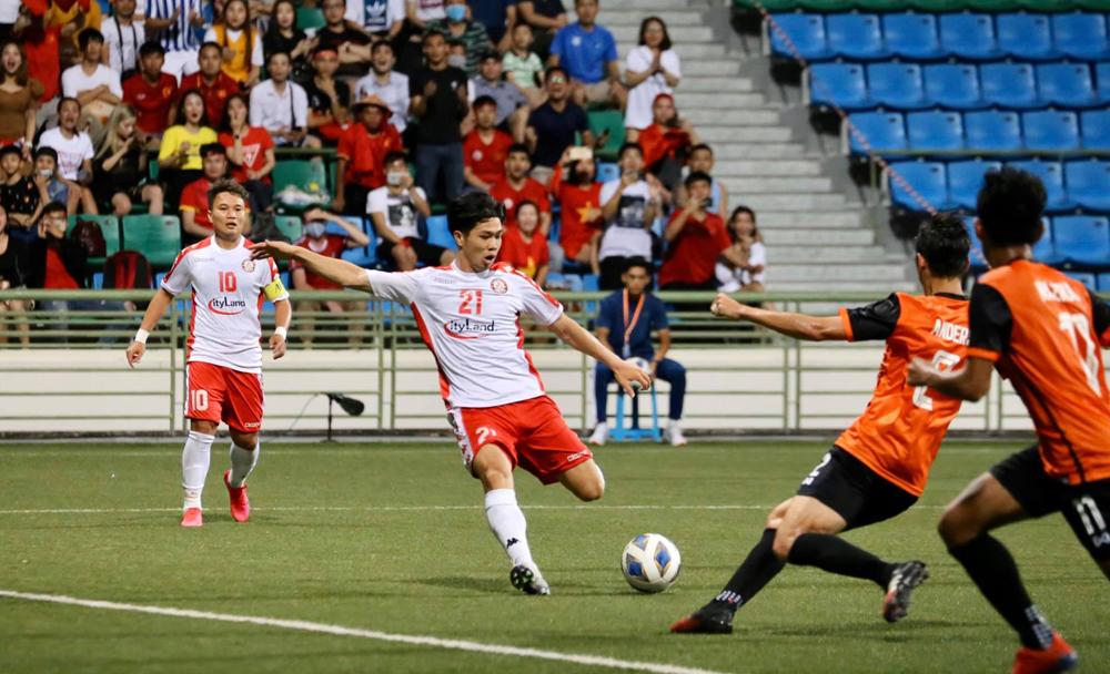 Công Phượng thi đấu nổi bật trong ba trận đã qua của TP HCM tại AFC Cup.