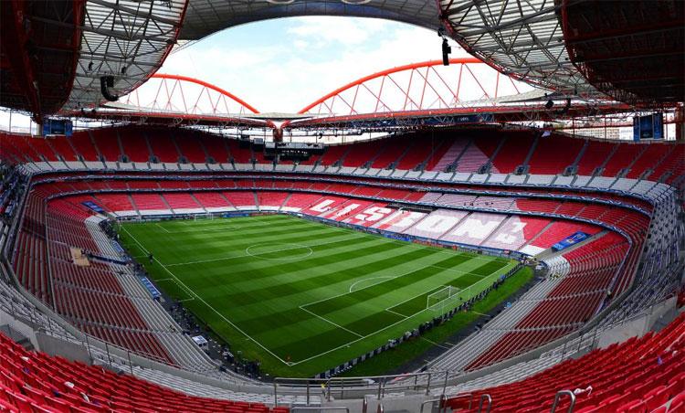 Sân Da Luz sẽ diễn ra bảy trận trong vòng 12 ngày. Ảnh: SLB.