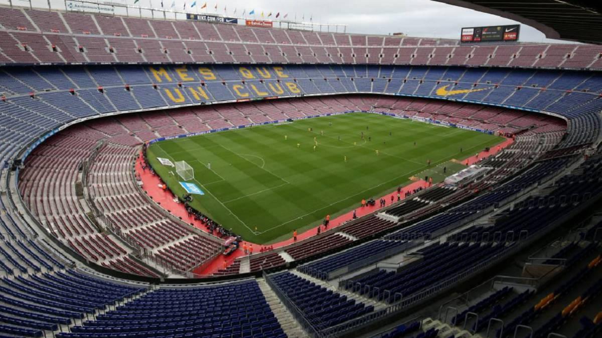Sân Camp Nou - nơi sẽ diễn ra trận đấu lượt về giữa chủ nhà Barca và Napoli vào ngày 8/8.