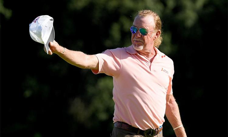 Ở tuổi 56, Jimenez vẫn tràn đầy nhiệt huyết và đam mê với golf. Ảnh: Golf World.