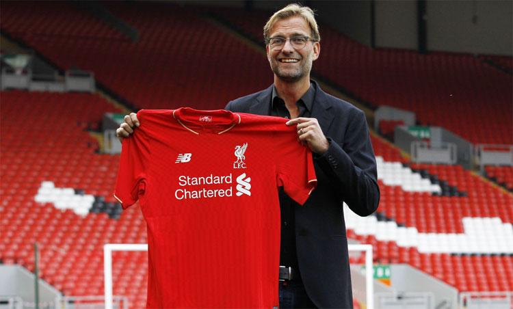 Klopp trong ngày ra mắt Liverpool. Ảnh: Reuters.