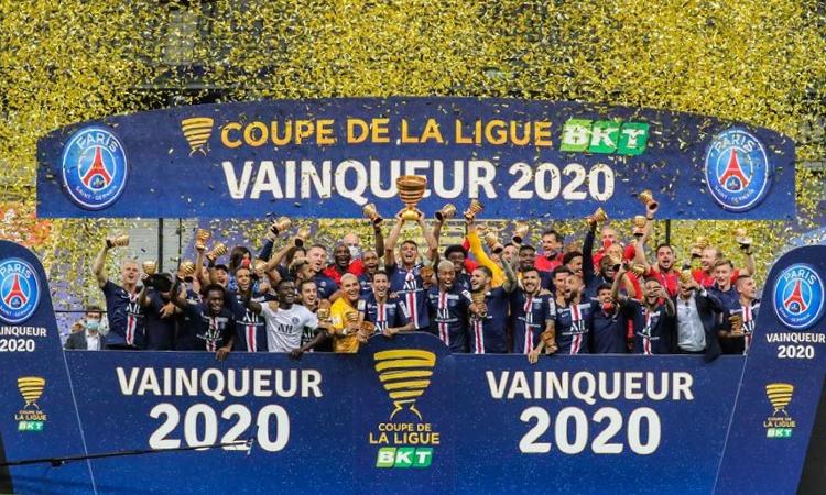 PSG đoạt Cup Liên đoàn Pháp 2020. Ảnh: PSG.fr.