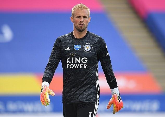 Kasper Schmeichel còn hợp đồng với Leicester đến hè 2023. Ảnh: BPI.