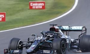 Hamilton về nhất tại British GP 2020