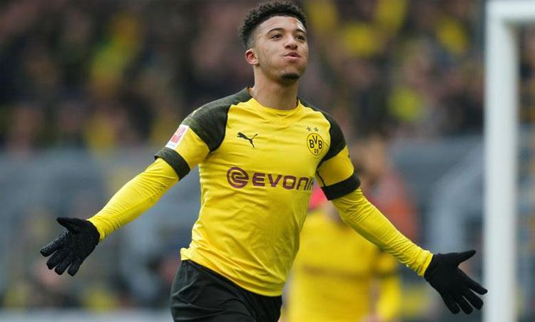 Sancho ghi 17 bàn, chuyền dọn cỗ 17 lần trong 32 trận Bundesliga mùa vừa qua. Ảnh: Reuters.