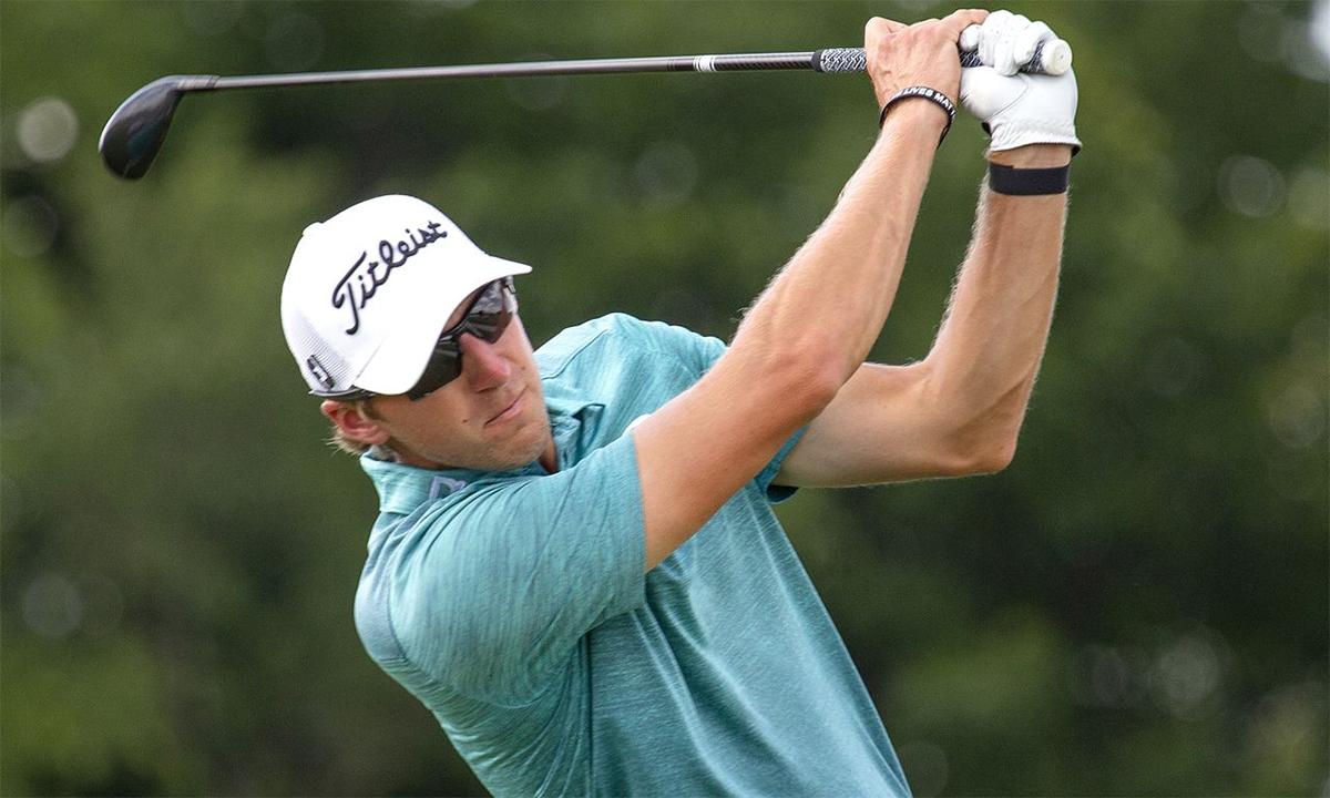 Richy Werenski lần đầu biết mùi vinh quang tại PGA Tour khi đăng quang ở Barracuda Championship. Ảnh: AP.