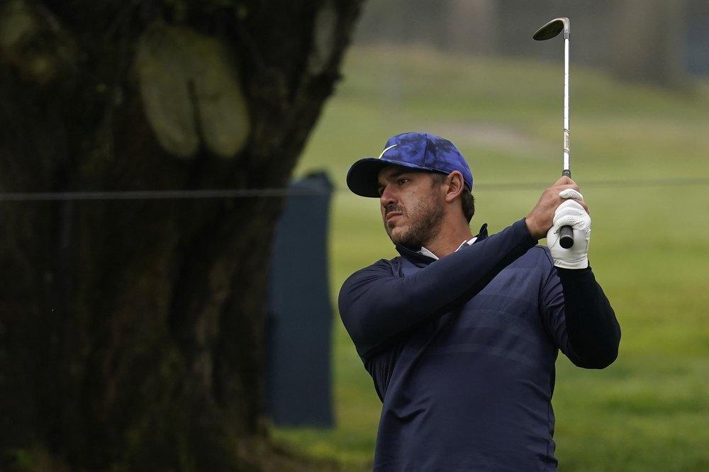 Koepka ở vòng đấu tập trước thềm PGA Championship trên sân  TPC Harding Park ở San Francisco hôm 4/8. Ảnh: AP.