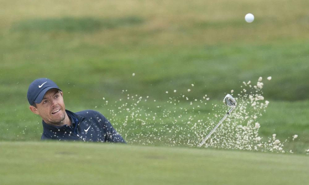McIlroy ở vòng đấu tập trên sân TPC Harding Park trước thềm PGA Championship hôm 5/8. Ảnh: USA Today.