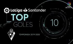 Top 10 bàn thắng La Liga 2019-2020