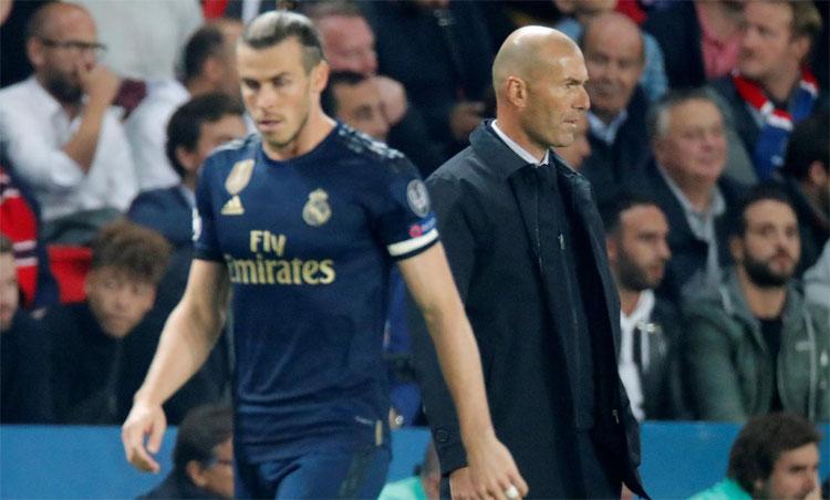 Zidane: Bale từ chối thi đấu