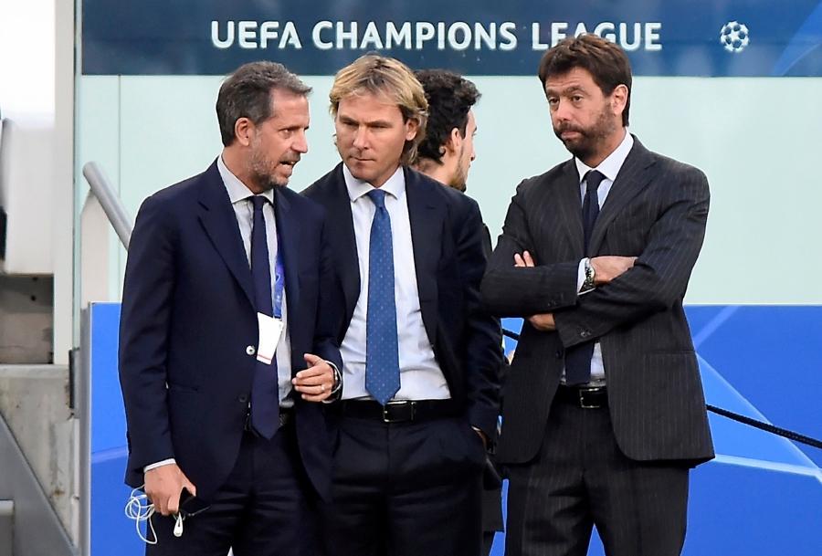 Với Andrea Agnelli (phải), vô địch Champions League là khát vọng mà ông nung nấu cùng Juventus nhiều năm qua. Ảnh: Reuters.