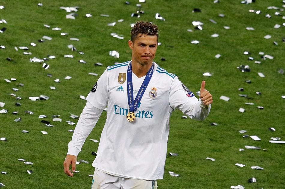 Ronaldo 4 lần vô địch Champions League trong 9 năm chơi cho Real. Ảnh: Reuters.