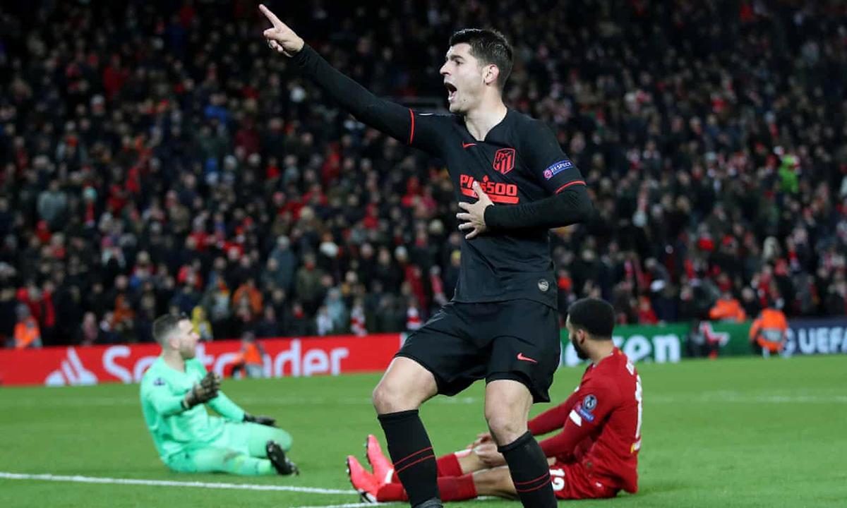 Atletico gây ấn tượng mạnh khi loại đương kim vô địch Liverpool ở vòng 1/8. Ảnh: Reuters.