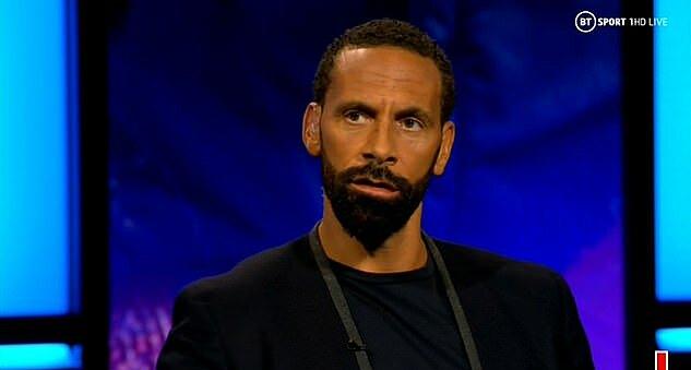 Ferdinand trên chương trình bình luận về trận Barca - Bayern tối 14/8.