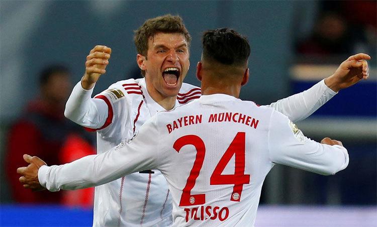 Bayern cảnh giác sau khi chứng kiến Lyon loại Man City