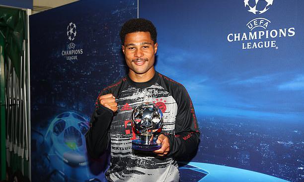 Gnabry là Cầu thủ hay nhất trận bán kết Champions League giữa Lyon và Bayern. Ảnh: UEFA.