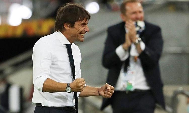 Conte khao khát vô địch Europa League cùng Inter sau thất bại tại Serie A. Ảnh: Reuters.
