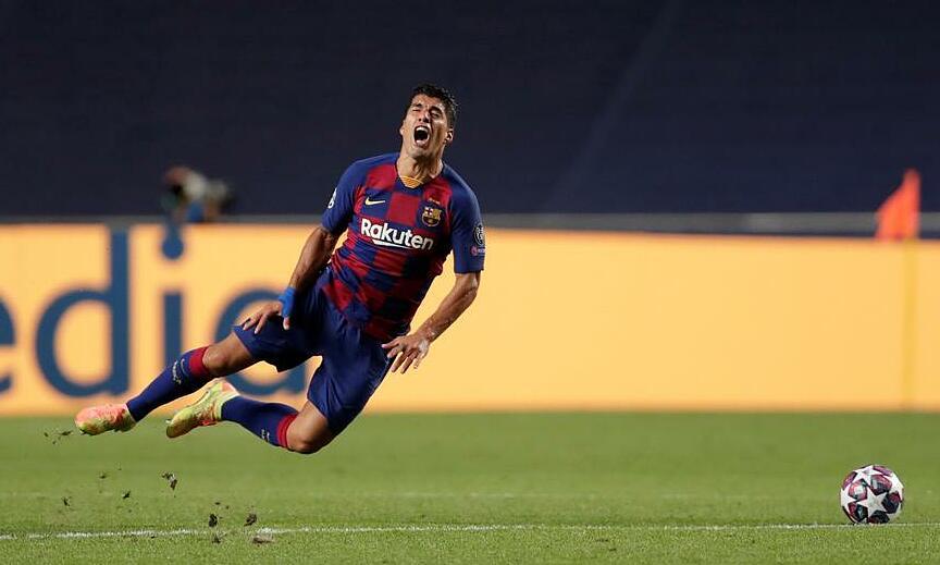 Suarez là cầu thủ ghi nhiều bàn thắng thứ ba trong lịch sử Barca, với 198 bàn sau 283 trận. Ảnh: Reuters