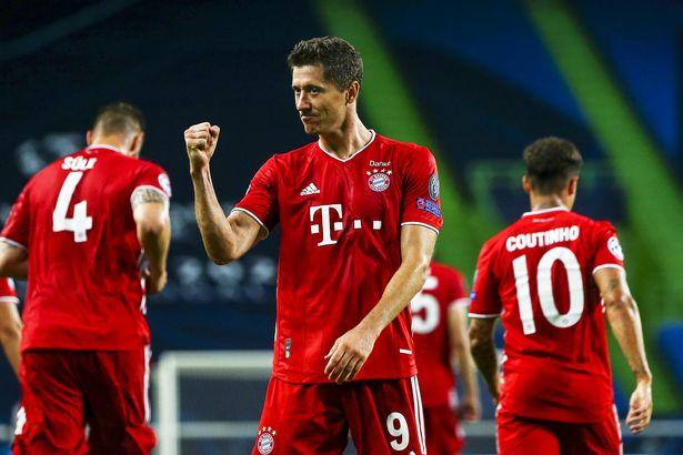So với PSG, đường vào chung kết của Bayern chông gai hơn. Họ phải gặp Chelsea, Barca và Lyon, còn đối thủ lại đương đầu Dortmund, Atalanta và Leipzig. Ảnh: EPA.
