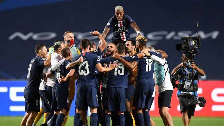 Mùa 2019-2020 mới là lần đầu PSG đi đến chung kết Champions League. Ảnh: Reuters.