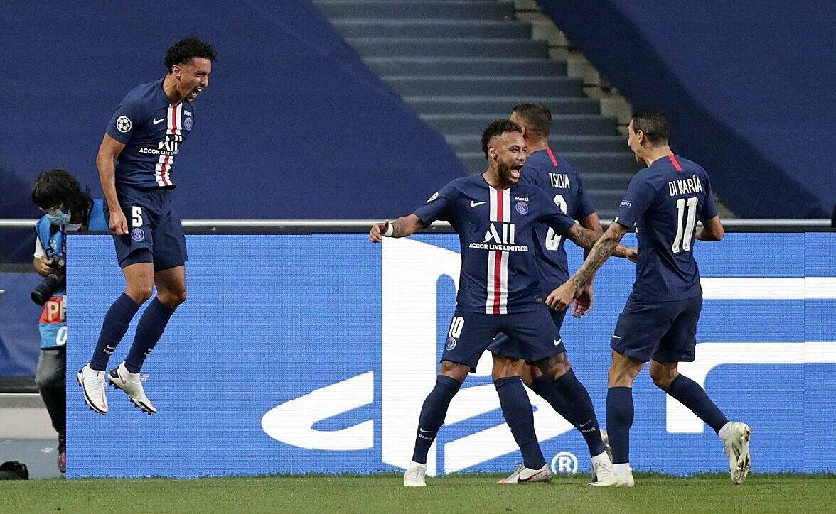 Neymar và đồng đội sẽ kiếm bộn nếu vô địch Champions League. Ảnh: AP.