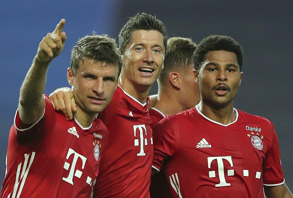 Bayern là đội kiếm được nhiều tiền nhất từ một mùa Champions League. Ảnh: AP.
