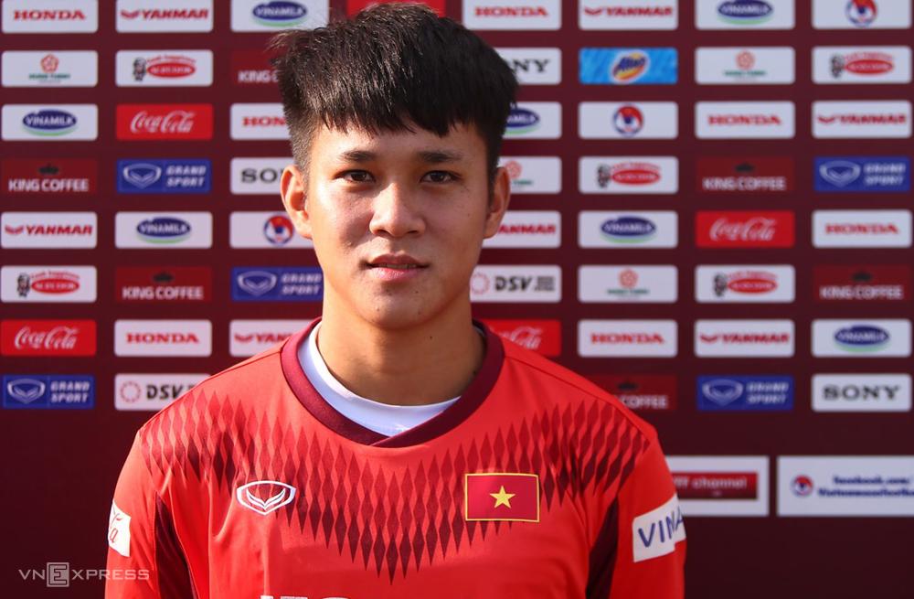 Lê Minh Bình được kỳ vọng trở thành tiền đạo chủ lực của Việt Nam tại SEA Games 31.