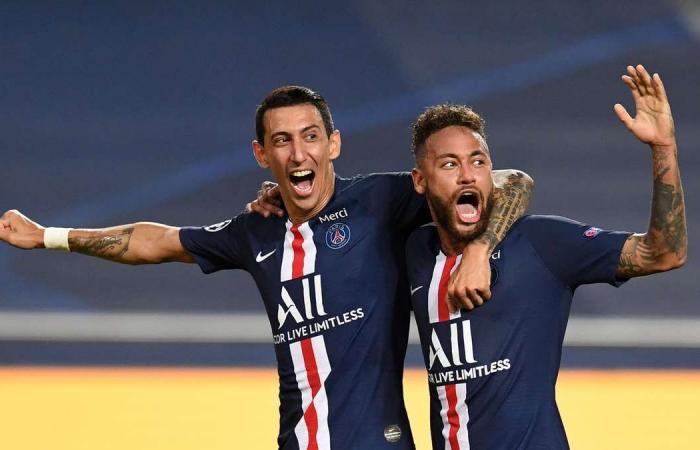 PSG rất mạnh ở hàng công, với sự góp mặt của bộ ba Neymar, Di Maria và Mbappe. Ảnh: UEFA.